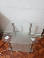 Used Urgent Sales, 2 glass side tables in Dubai, UAE