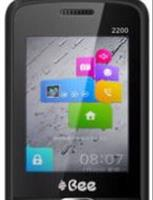 Bee 2200 Dual Sim, Black Mobile Phone