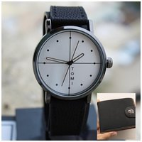Used Original TOMI Watch +Leather Wallet-FREE in Dubai, UAE