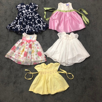 Used 0-6mos baby gowns wth headbands in Dubai, UAE