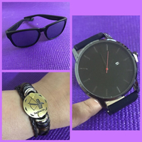 Used Sunglass/ Watch/Bracelet/Men  in Dubai, UAE