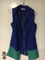 Used Sexy blue dress with suit including  in Dubai, UAE