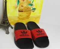 Used New Adidas Slides Slippers Red size40-45 in Dubai, UAE