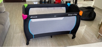 Used Hauck sleep n play baby cot in Dubai, UAE