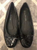 Used Black shoes flats size 38 in Dubai, UAE