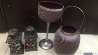 Used Set of candle holder for display in Dubai, UAE