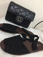 Used special offer bag with sandals  in Dubai, UAE