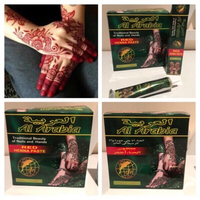 "Used Red henna paste ""Al Arabia"" 12 pcs in Dubai, UAE"