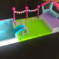 Used Shopkins Pool Party Set in Dubai, UAE