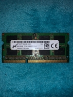Used 8 GB Ram DDR3 for laptop PC3L in Dubai, UAE