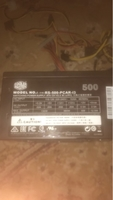 Used Cooler master power supply 500w in Dubai, UAE