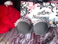 Used New Nayomi lace padded bra with tag 🏷  in Dubai, UAE