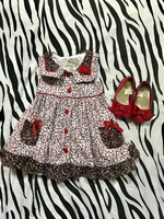 Dress with shoes for 1 to 1.5years old