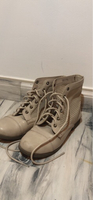 Used Beautiful forever 21 leather boots beige in Dubai, UAE