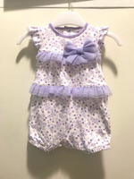 Used JUNIORS Girl Dress 6 to 12 months Purple in Dubai, UAE