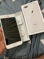 Used Apple iphone 8 plus 64gb silver in Dubai, UAE