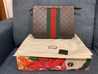 Used Preloved Authentic Gucci classic clutch  in Dubai, UAE