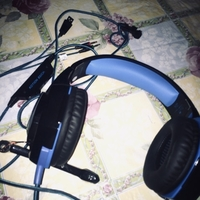 Used Gaming headphone colorful in Dubai, UAE