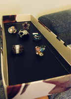 Rings 6 pieces new and used