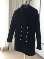 Used Diesel black coat with gold bottoms  in Dubai, UAE