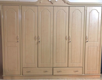 Used 6-doors wardrobe  in Dubai, UAE
