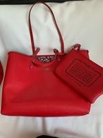 Used Original reversible red coach tote bag  in Dubai, UAE