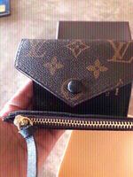 Used Louis Vuitton small wallet with box  in Dubai, UAE