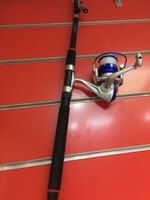 Used Fishing reel and rod new in Dubai, UAE