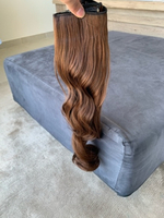 Used Invisible Halo Hair Extensions 24Inch in Dubai, UAE