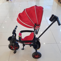 Used Baby Bike (Red, Blue & White) in Dubai, UAE