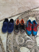 Used Bundle offer 3 branded original shoes  in Dubai, UAE