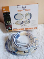 Used 16pcs Melamine Dinner Set in Dubai, UAE
