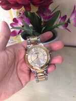 MEN's Luxury Watch Gold  Silver