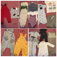 Used Boys clothes 3-6 month in Dubai, UAE