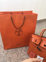 Used Hermes Birkin Authentic Orange Bag  in Dubai, UAE