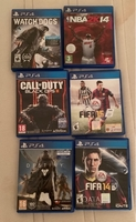 Used 6 different PS4 Games in Dubai, UAE