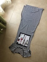 Used Long fitted dress striped in Dubai, UAE