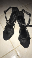 Used Aldo Strappy Black Sandals in Dubai, UAE