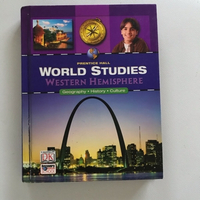 "Used Book ""WORLD STUDIES"" WESTERN HEMISPHERE in Dubai, UAE"