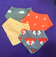 Used 9 pcs of Cute and colorful PatPat Bibs in Dubai, UAE