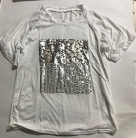 Used New white T-shirt for her size small  in Dubai, UAE