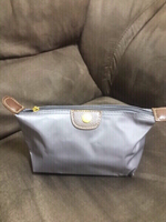 Long champ small pouch  Gray