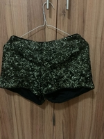 Used Black shorts with silver sizzle in Dubai, UAE