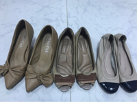 Bundle used shoes 3pcs for 95dhs(36size)
