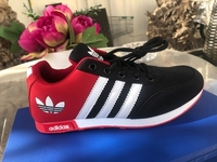 Used ADDIDAS LADIES SHOES RED 37 39 in Dubai, UAE