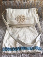 Used ORIGINAL TORY BURCH AMANDA FOLDOVER BAG. in Dubai, UAE