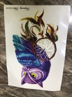 Used 3D tattoos stickers brand new #5 in Dubai, UAE