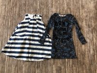 Used 2 dresses for a girl 8/9 years old  in Dubai, UAE