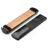 Portable Pocket Guitar with 6 Strings