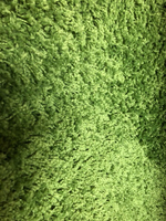Used Carpet from Ikea green great condition  in Dubai, UAE